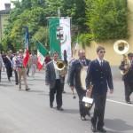 Il corteo del XXV Aprile 2011 a Monticelli