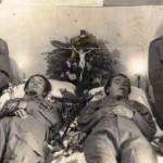 La veglia funebre al Valoroso e a Ciceri
